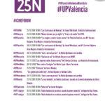 #UPValència comprometida contra la violencia machista #25N