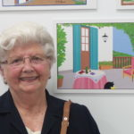 La UP expone la obra de Concha García, la artista naif con Paint