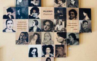 """La exposición """"Mujeres pintoras"""" en UP Algirós visibiliza y reconoce a mujeres artistas"""