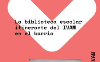 Moguda! una biblioteca itinerante del IVAM en #UPCiutatVella