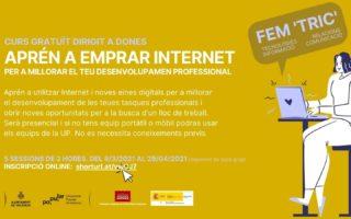 Novedad! Curso para mujeres para mejorar las habilidades con Internet y las oportunidades de empleo