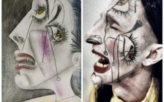 La UP celebra el carnestoltes amb representacions animades d'obres pictòriques