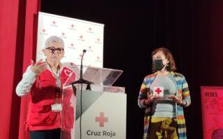 La Universitat Popular de València recibe un reconocimiento de Cruz Roja Valencia