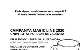 'Participar transforma': más de 400 participantes UP caminarán en la #MagicLine 2020