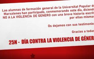 Les dones conten la violència masclista