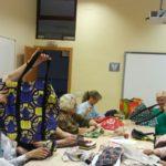 Coser para dar vida: UP Russafa se implica por la infancia