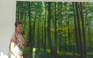 El centro UP Sant Marcel·lí respira y nos muestra el bosque en la exposición de final de curso