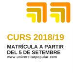 Resultado del sorteo de plazas Curso 2018/19