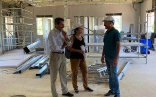 La UP de Benicalap finalizará la reforma completa del edificio en octubre