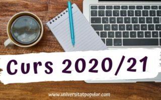 La Universitat Popular mantindrà les matrícules del curs 19/20 i el primer trimestre serà gratuït